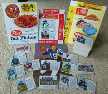 Extended Post Cereal football set