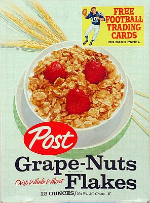 Grape Nuts Flakes 12 oz. front panel