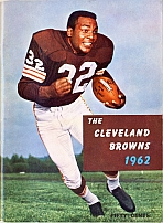 1962 Browns media guide